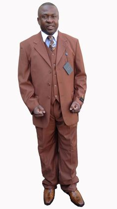 SKU#LT-30 Mens 3 Piece 33 Jacket with Double Vents Suit Bold ...
