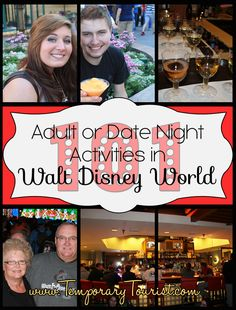 101 Walt Disney World Date Night Activities ( or things to do without Children)