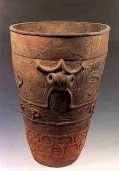 Jomon pottery  | Middle stage |  from Fujimi-cho, Nagano Prefecture
