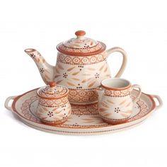 temp-tations® Old World 4-pc. Tea Set