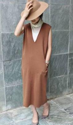 夏のマタニティファション   パーソナルカラー&7タイプパーソナルスタイル診断/サロンR.LABOブログ Minimal Fashion, High Neck Dress, Fashion Looks, Casual, Womens Fashion, Clothes, Board, Dresses, Turtleneck Dress