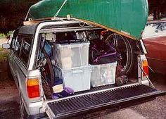 Camping tips - a Boxing system makes things easier.We used to do this very thing with totes for Royal Ranger Campouts