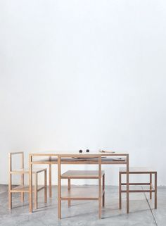 © Donald Judd. Table & Chairs. Image by Elizabeth Felicella + Esto of La Mansana de Chinati/The Block.