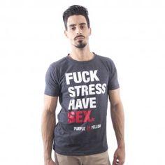 T-shirt Fuck Stress