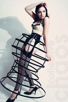 Bell Cage Skirt. $250.00, via Etsy.