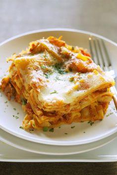 21. Slow Cooker Veggie Lasanga #freezermeals #frozenfood http://greatist.com/eat/healthy-freezer-meals