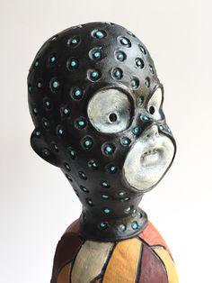 Masked Ghost Baby by Flora Art Studio Flora, Studio, Artwork, Baby, Home Decor, Homemade Home Decor, Work Of Art, Plants, Studios
