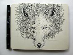 Ilustrações em Moleskine de Kerby Rosanes // Illustrations in Moleskine Kerby Rosanes