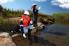 Water quality testing - BHP Billiton