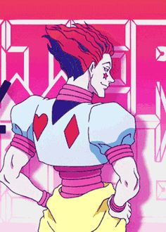 Hisoka - He's kinda like the Joker... he's cool but really creepy at the same time.