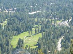 Incline Village, Nevada at Lake Tahoe has two golf courses. Allen can take up golfing again!
