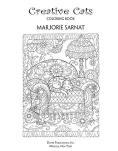 Creative Haven Creative Cats Coloring Book (Adult Coloring) Coloring Pages For Grown Ups, Free Adult Coloring Pages, Colouring Pages, Creative Haven Coloring Books, Superhero Coloring, Doodle Coloring, Flower Doodles, Cat Colors, Cat Crafts