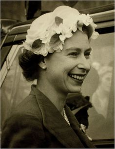 Queen Elizabeth II, from her crown to her hats, both pretty amazing if you think about it...
