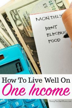 How You Can Live on One Income – Finance tips, saving money, budgeting planner Living On A Budget, Family Budget, Frugal Living, Budgeting Worksheets, Budgeting Tips, Ways To Save Money, Money Saving Tips, Money Tips, Saving Ideas
