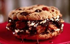 Turtle Cookie Ice Cream Sandwich Recipe by Jeff Mauro