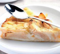 Francúzska jablková torta