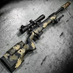 gunsdaily: By Longbow. The with scope, AAC Cyclone suppressor, and Atlas bipod at Designed specifically by request of a contracting firm to be used for counter terrorist sniper teams. Basically a modern version of an style sniper rifle. Weapons Guns, Guns And Ammo, Ak47, Long Rifle, Bolt Action Rifle, Longbow, Custom Guns, Hunting Rifles, Cool Guns