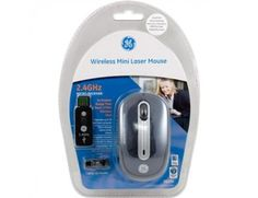 GE Wireless Mini Laser Mouse for $11.95 + free shipping!