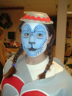 Flying Monkey face painting by Ildi: Wizard of Oz, Downingtown Middle School, 2007 Wizard Of Oz Costumes Diy, Clever Costumes, Diy Costumes, Halloween Costumes, Costume Ideas, Wizard Of Oz Play, Wizard Of Oz Musical, Halloween Fancy Dress, Fall Halloween