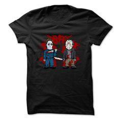 BLOODY BFF T-Shirts, Hoodies. GET IT ==► https://www.sunfrog.com/Zombies/BLOODY-BFF-T-Shirt.html?id=41382