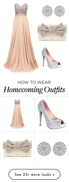 """Homecoming 2015"" by ruchibhandari on Polyvore featuring Jovani, Lauren Lorraine and Kate Spade"
