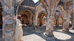 In the 14th century, Kilwa Kisiwani was a center of wealth and opulence as a trading hub that linked Africa to Persia, India and China. Today the area's ruinous buildings are a captivating sight to behold and have been given Unesco World Heritage status. Other heritage locations include the Kondoa rock art sites, a collection of over 150 natural shelters decorated with paintings dating back over 2,000 years.