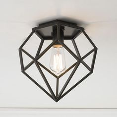 prism ceiling light shades - Google Search