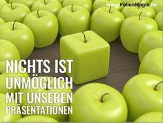 Wir machen (fast) jede Präsentation einmalig. www.FolienMagie.de