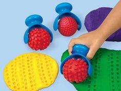 Easy Grip Dough Rollers (#EA808, Lakeshore Learning)