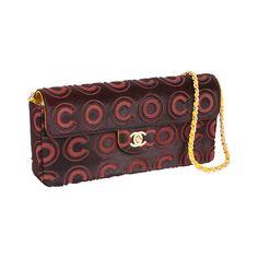 8de2caca92f3 Chanel Coco Logo Pony Hair Leather Clutch Shoulder Bag