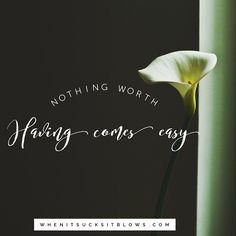 Great things are not easy to do. #motivationalquotes #inspirationalquotes…