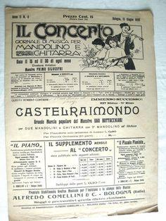 CASTELRAIMONDO MARCIA - UGO BOTTACCHIARI - 2 MANDOLINEN GITARRE - MUSIKNOTE | eBay