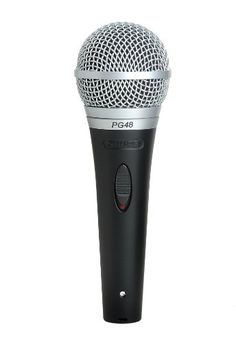 Shure Pg48-Xlr Cardioid Dynamic Vocal Microphone With Xlr-To-Xlr Cable, 2015 Amazon Top Rated Dynamic Microphones #MusicalInstruments