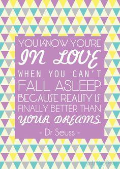 Dr Seuss Quote print