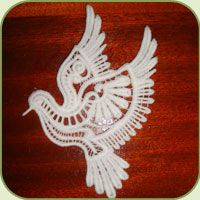 SD928 Freestanding Lace Dove