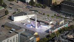 Helsingin kaupunginvaltuusto on tänään hyväksynyt asemakaavan muutoksen, joka mahdollistaa uuden Amos Andersonin taidemuseon rakentamisen Lasipalatsin aukion alle.