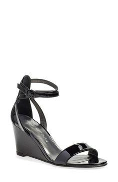 Stuart Weitzman 'Backdraft' Ankle Strap Wedge Sandal