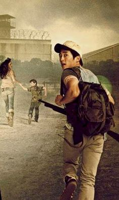 The Walking Dead - season 3, Glenn, Lori, and Carl