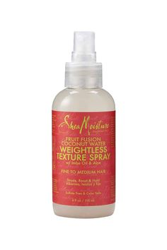This weightless styling spray delivers a balance of body and definition for an effortless lasting tousled look. Certified organic Shea Butter and Coconut Water blend with our propietary fusion of Drag