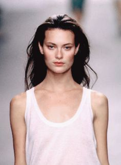petrole:    shalom harlow at calvin klein spring summer 1999