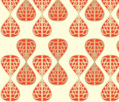 coral_bells fabric by holli_zollinger on Spoonflower - custom fabric