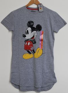 MICKEY MOUSE PRIMARK PJ NIGHTIE DISNEY Sizes 6 - 20 NEW Disney Outfits, Disney Clothes, Disney Tops, Primark, Nightwear, Mickey Mouse, Pj, My Style, Mens Tops