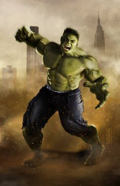 The Hulk by Scott Harben *