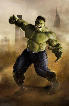 The Hulk by Scott Harben *