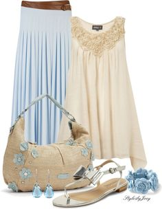 """""""Easy Like a Summer Morning"""" by stylesbyjoey on Polyvore"""