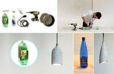 DIY Leuchte aus Beton - Geschnackvoll