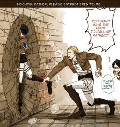 Doesn't that mean Erwin is Eren' second father??