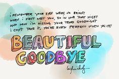 Beautiful Goodbye   Maroon 5