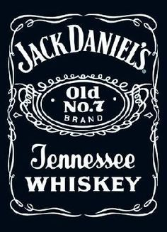 Jack Daniels Label, Whisky Jack Daniels, Jack Daniels Bottle, Jack Daniels Wallpaper, Jack Daniel's Tennessee Whiskey, Bobble Stitch, Label Templates, A4 Poster, Posters