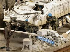 Military Modelling, Military Diorama, United Nations, Atv, Scale Models, Military Vehicles, Action Figures, Miniatures, Dreams